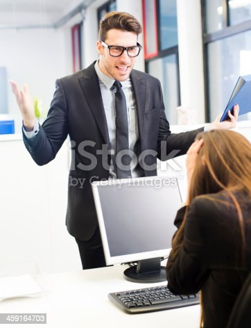 istock Business harassment 459164703