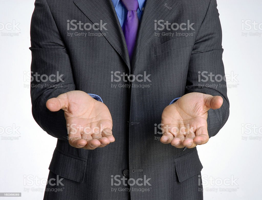 Business help. royalty-free stock photo