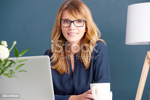 istock Business her passion 650298068