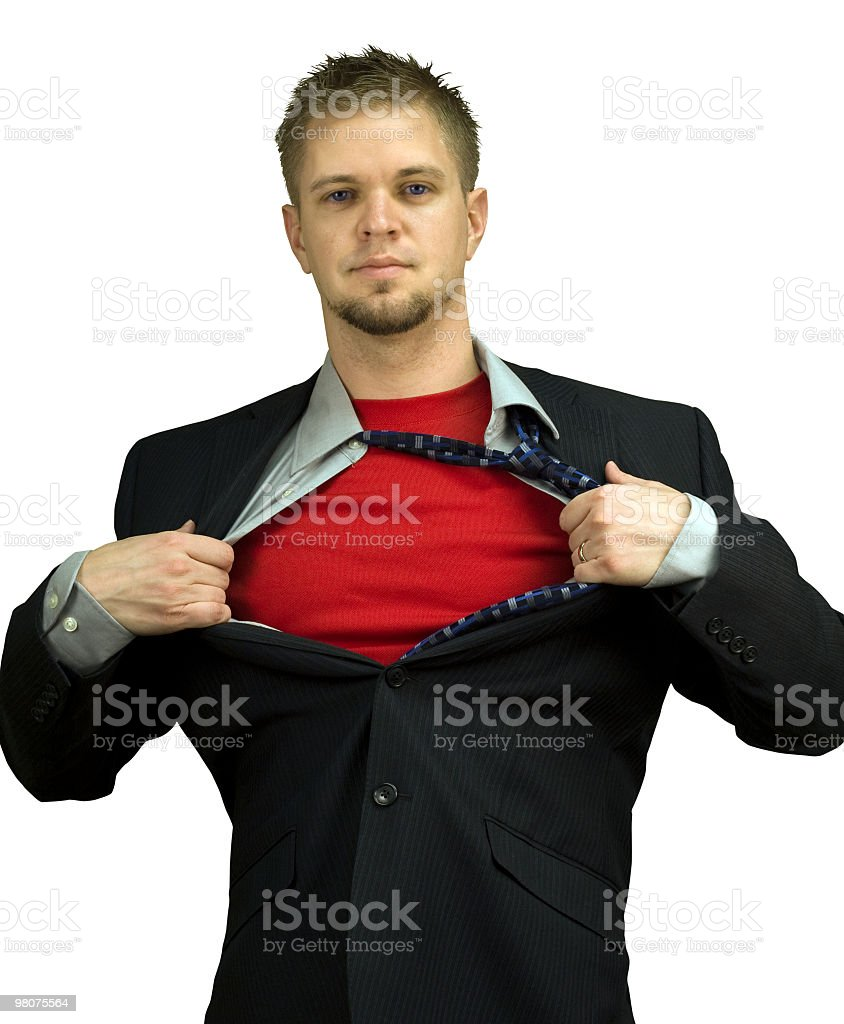 Business Hero royalty-free stock photo