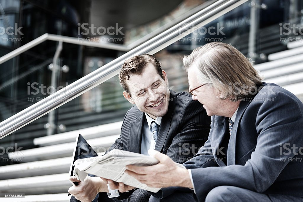 Business humour royalty-free stock photo