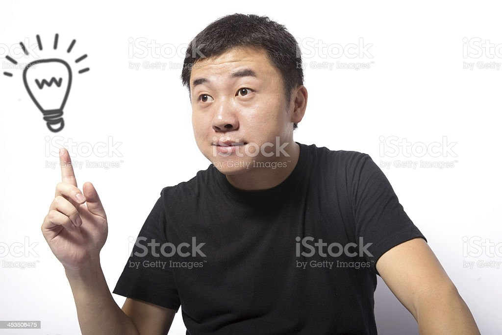 Business Idea Concept royalty-free stock photo