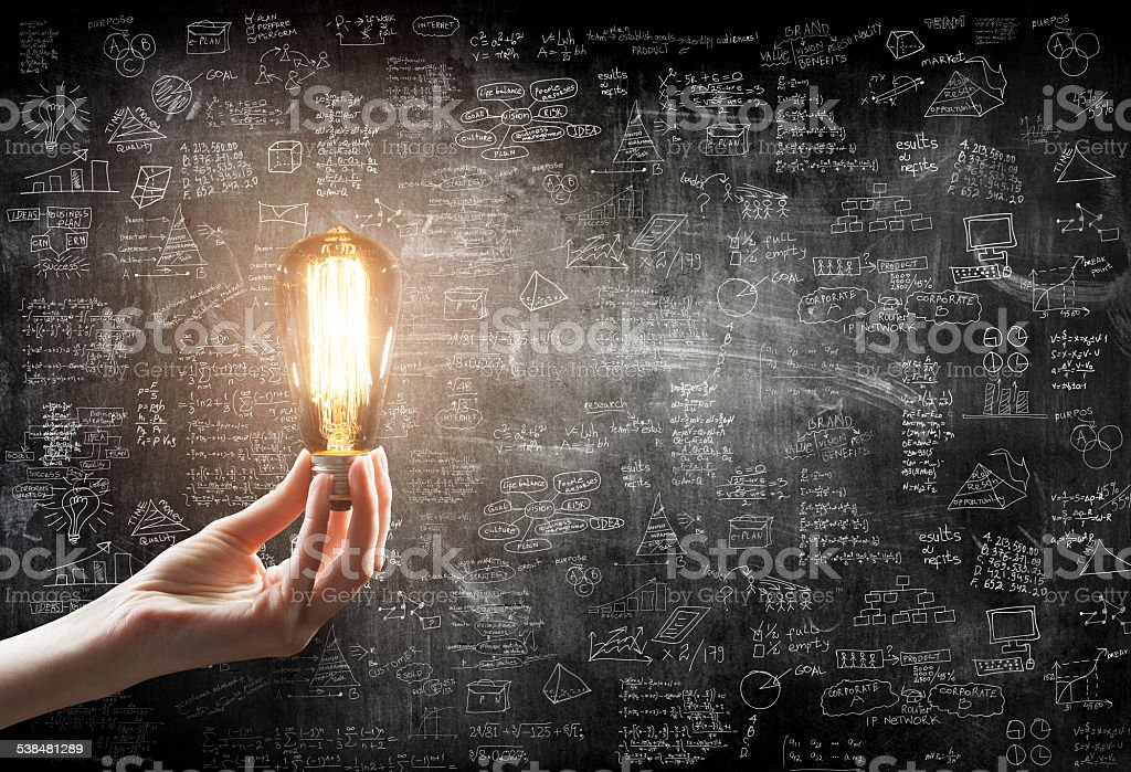 business idea concept stock photo