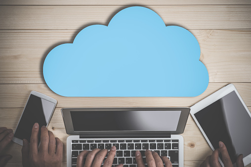 Business Image Cloud Stock Photo - Download Image Now