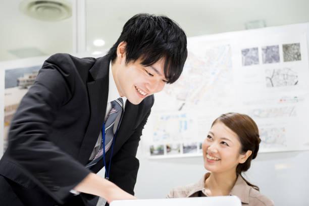 ビジネス イメージ (新しい新兵 · 女性成功 · チームワーク) - オフィスワーク ストックフォトと画像