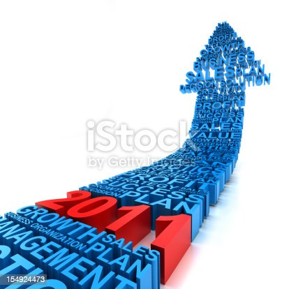 istock Business improvement in year 2011 154924473