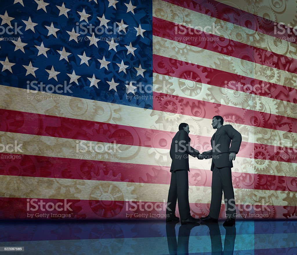 Business In America stock photo