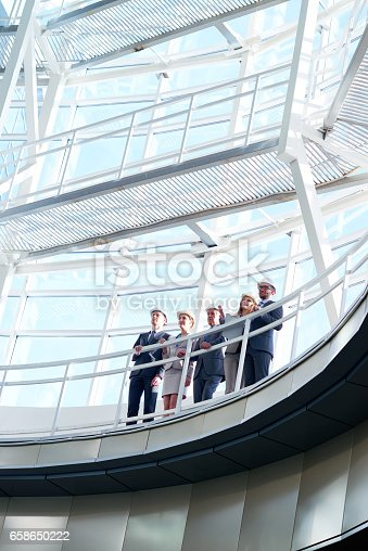 istock Business in construction industry 658650222