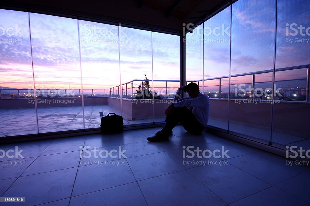 Business in Crisis stock photo