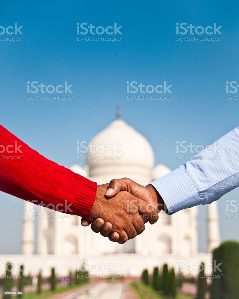 Business in India royalty-free stock photo