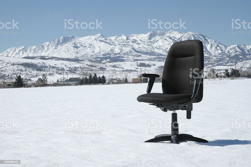 Business in the Outdoors 1, Utah royalty-free stock photo