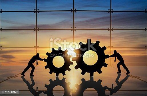 istock Business innovation creative idea 671560878