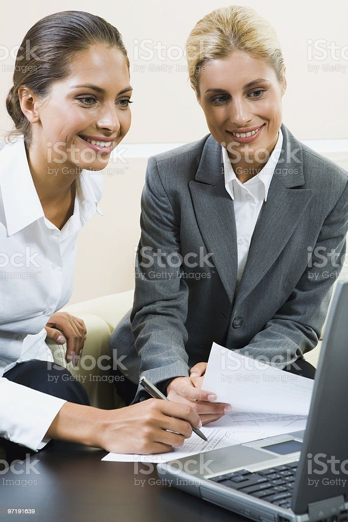 Business instructions  Adult Stock Photo