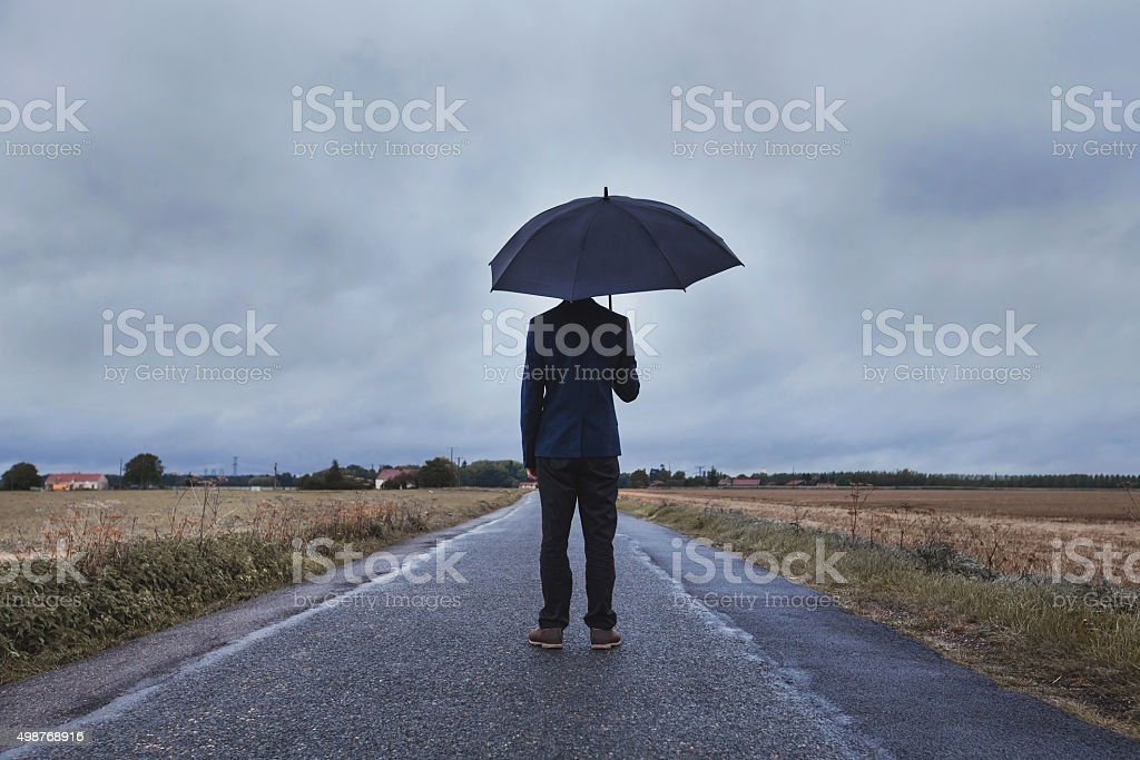 business insurance, fears psychology concept stock photo