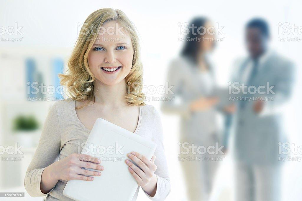 Business intern stock photo