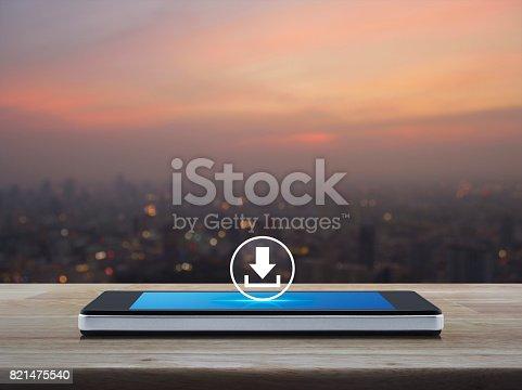 istock Business internet concept 821475540