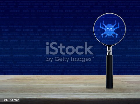 istock Business internet security concept 686181752