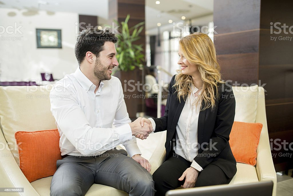 Business Introduction stock photo