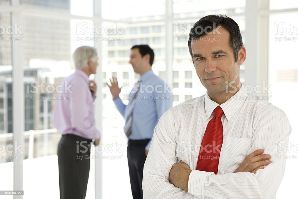 Business is about talks stock photo