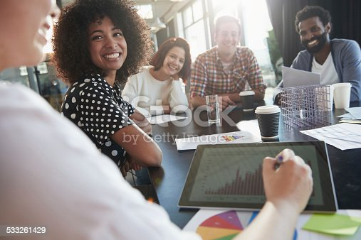 istock Business is booming 533261429