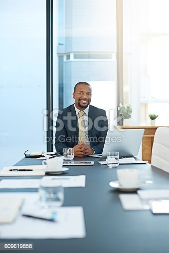 1053499704 istock photo Business is my thing 609619858
