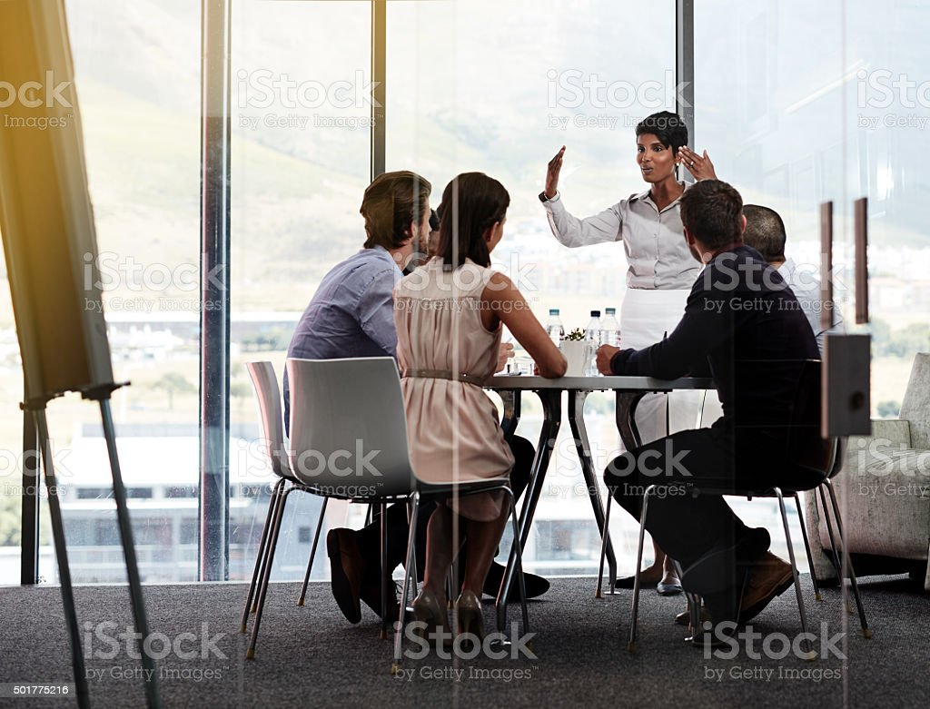 Business is on the up stock photo