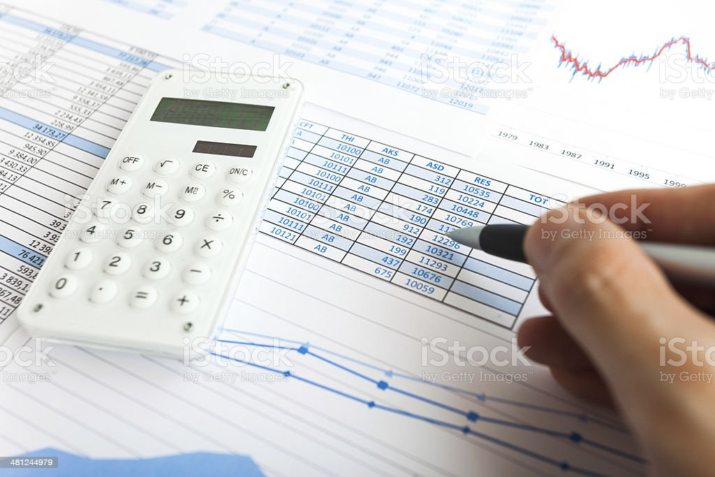 Business Items stock photo
