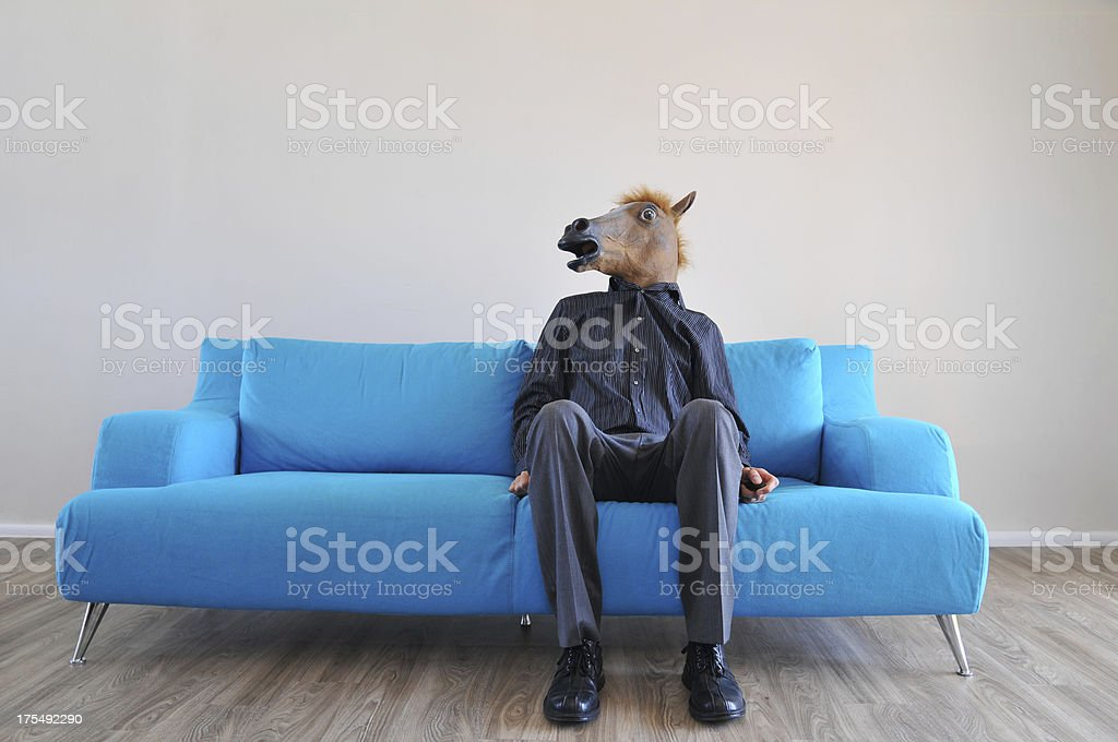 Business jackass stock photo