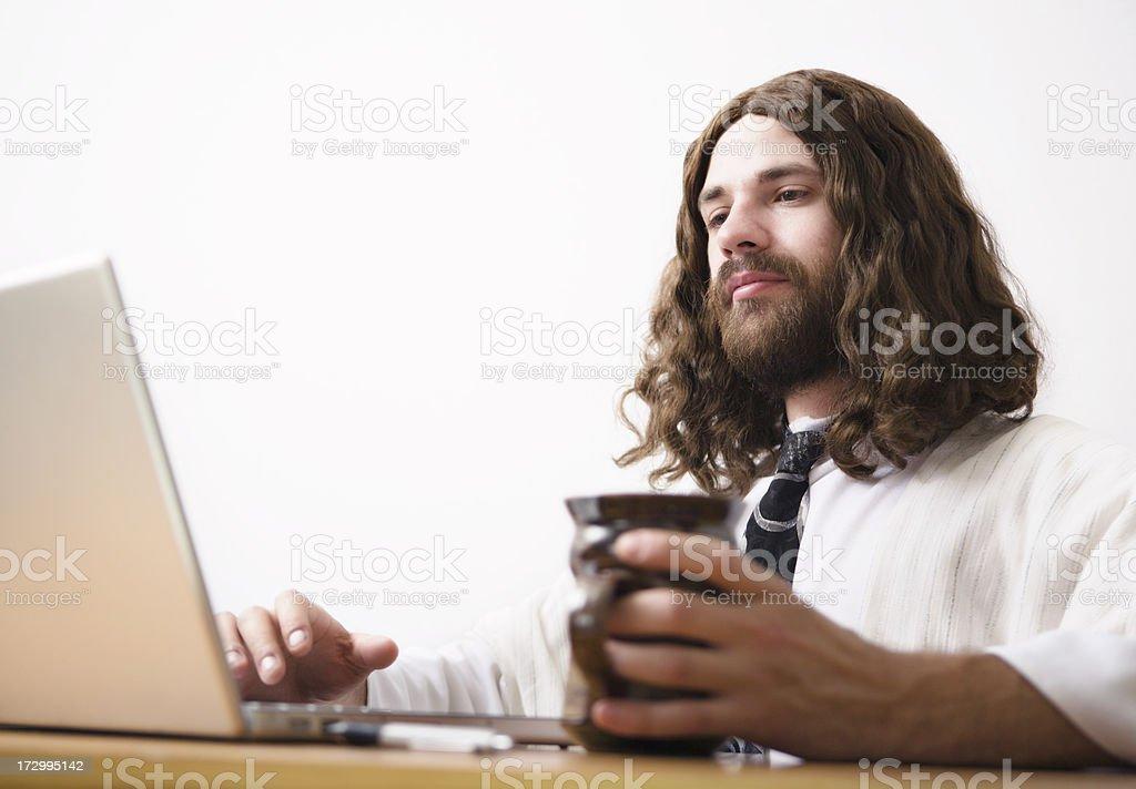 Business Jesus royalty-free stock photo