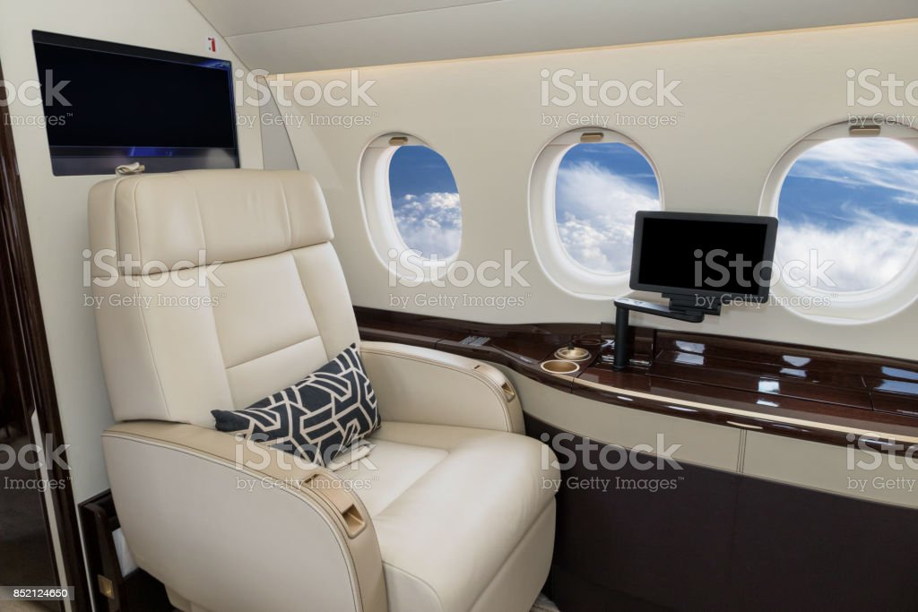 VIP-Business-Jet-Flugzeug – Foto