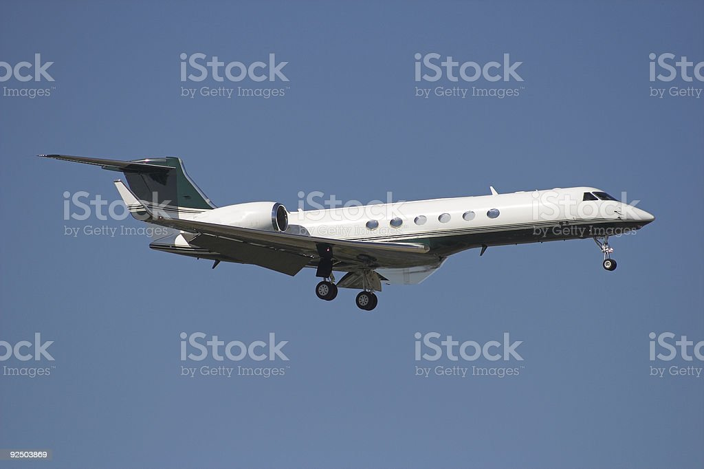 Business Jet royalty-free stock photo