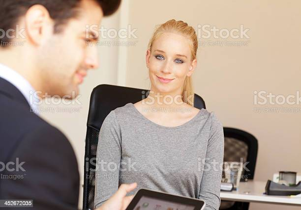 Business Job Interview Stock Photo - Download Image Now