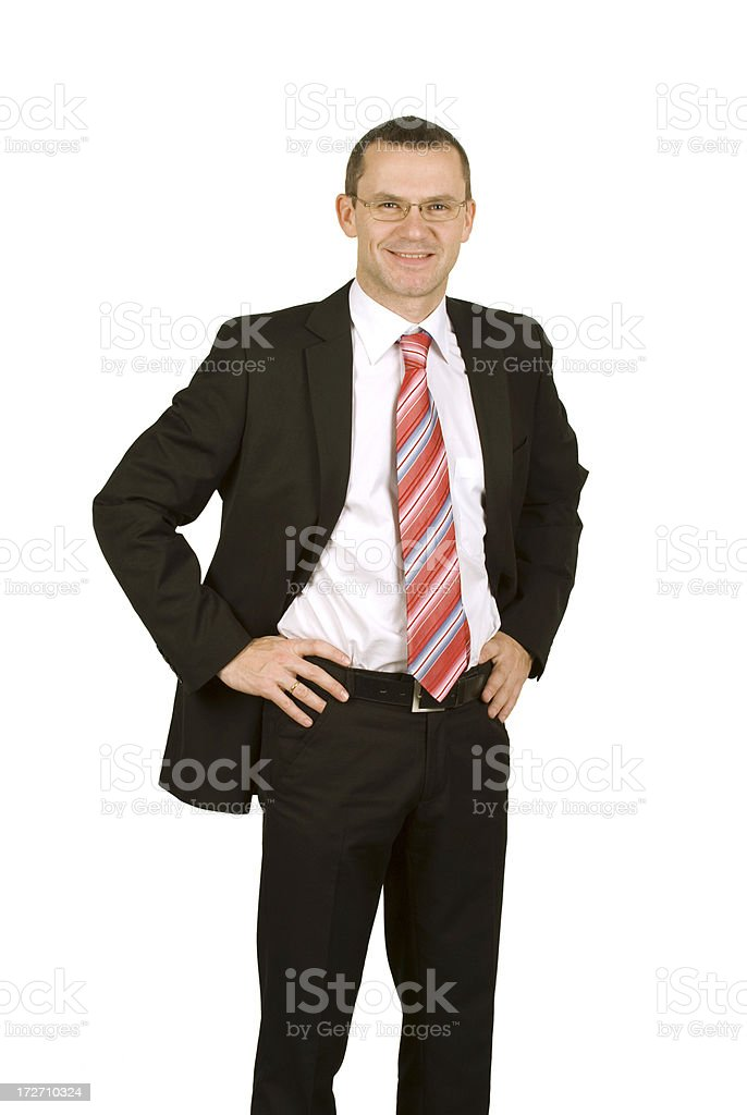 Business - Junior Businessman royalty-free stock photo