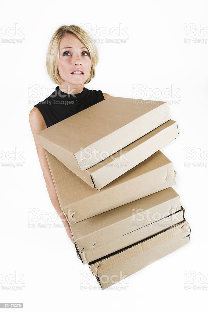 Business Lady #19 royalty-free stock photo