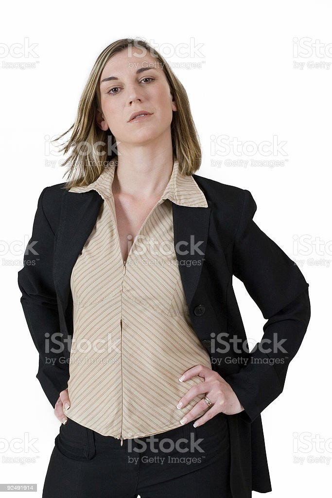 Business Lady #118 royalty-free stock photo