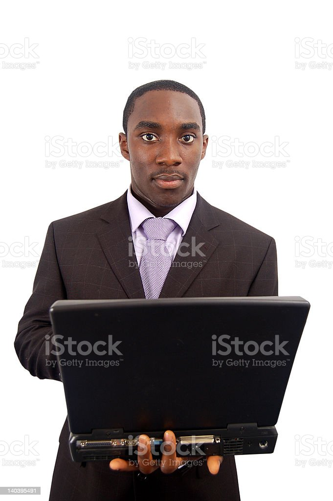 Business Laptop royalty-free stock photo