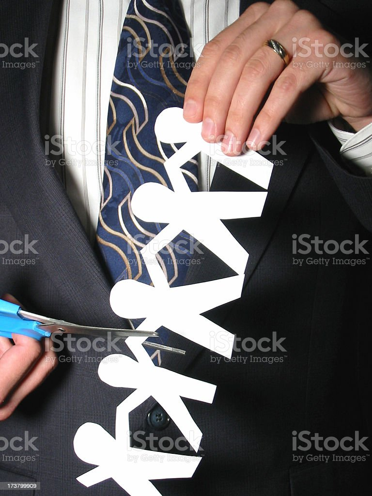 Business - Layoffs royalty-free stock photo