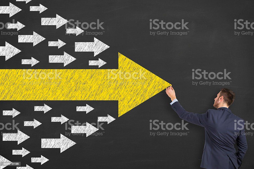 Business Leadership stock photo