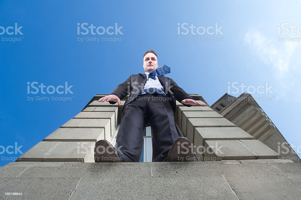 business leap stock photo
