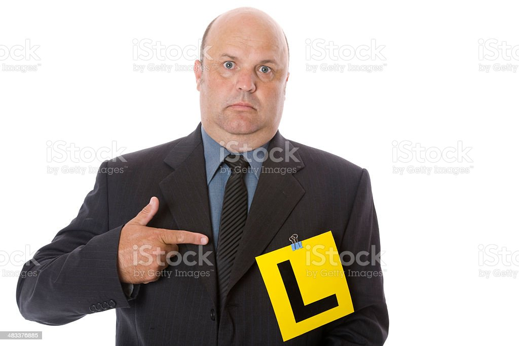 Business-Lernende Lizenzfreies stock-foto