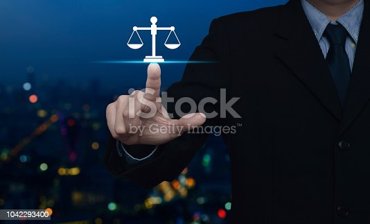 istock Business legal service concept 1042293400