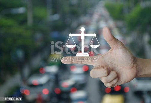 istock Business legal service concept 1124932104