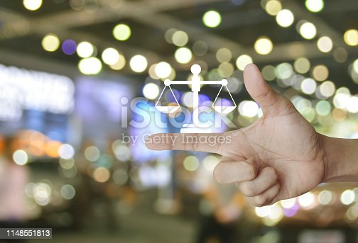 istock Business legal service concept 1148551813