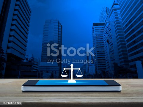 istock Business legal service online concept 1026990294