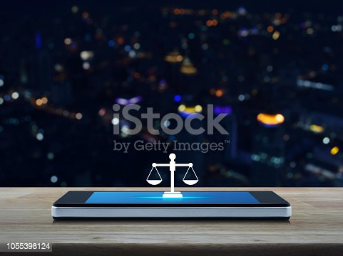 istock Business legal service online concept 1055398124