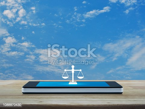 istock Business legal service online concept 1088870430