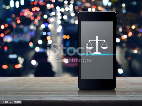 istock Business legal service online concept 1151727988