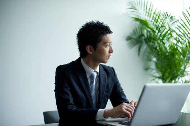 business life - asia orientale foto e immagini stock