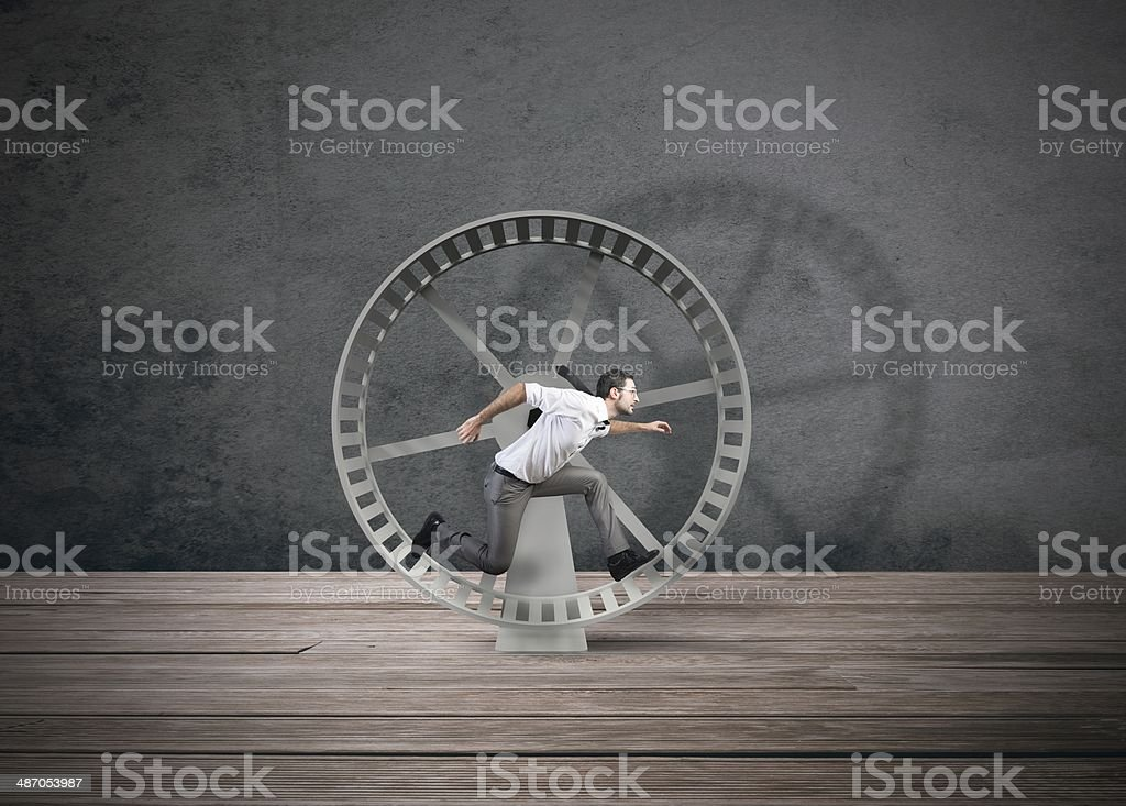 Business loop stock photo
