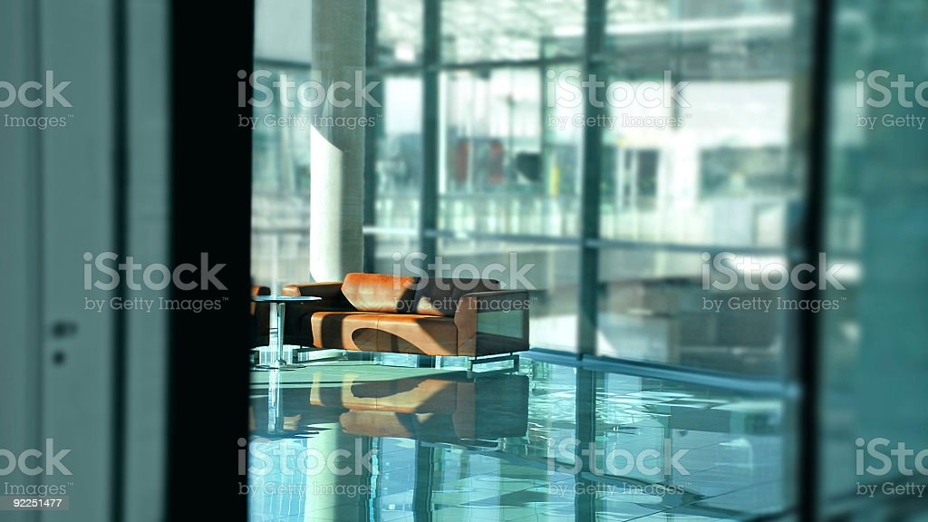 business lounge lobby royalty-free stock photo